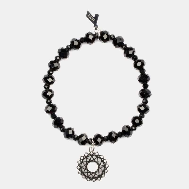 Mandala Armband Svart