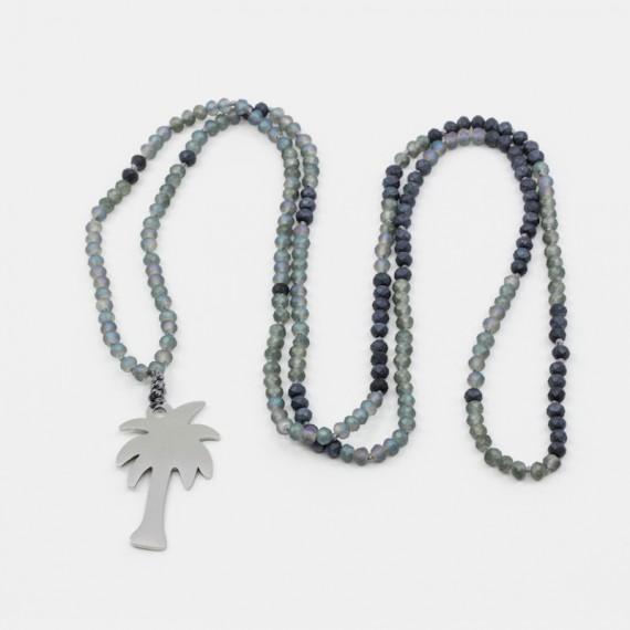 Mantra Halsband Silver