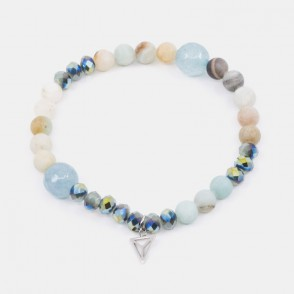 Amazonite Armband Turkos Y-YOGA