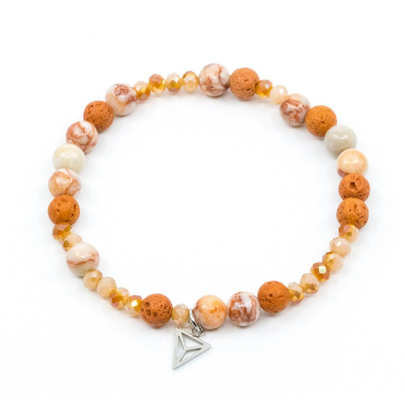 Lava Armband Orange Y-YOGA