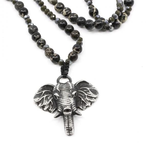 Elephant Halsband Svart