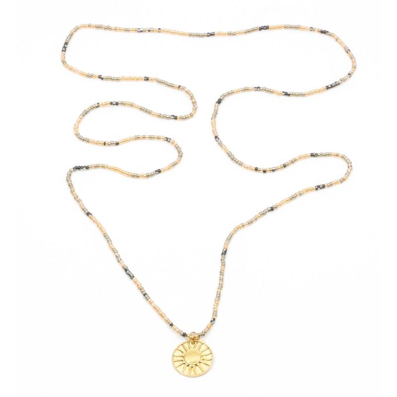 Sun Amulet Halsband Mix