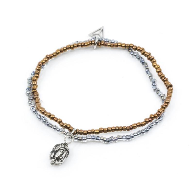 Buddha Armband mix