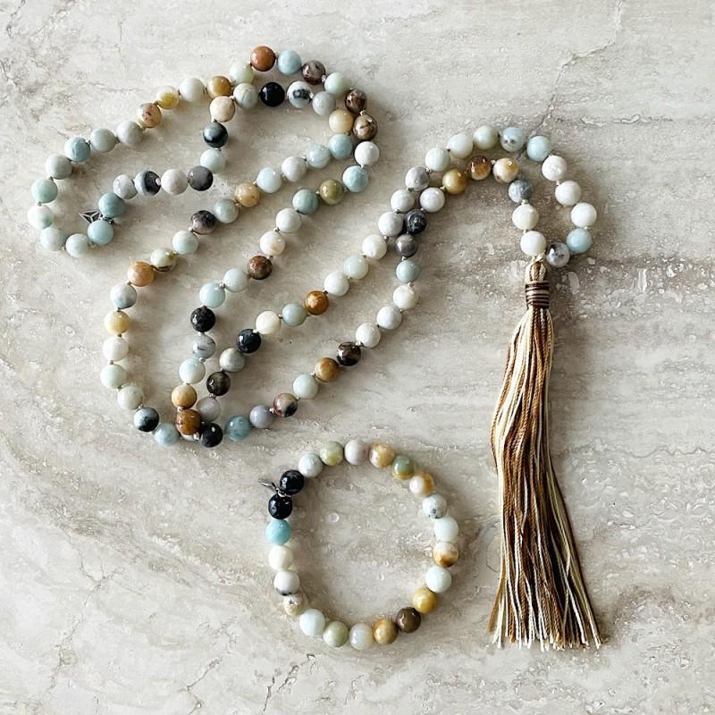 Mala Halsband och Armband Amazonit