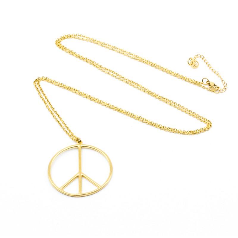 Peace Halsband 90 Guld 7EAST