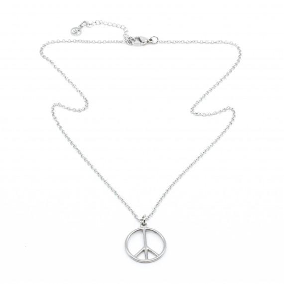 Peace Halsband 45 Silver 7EAST