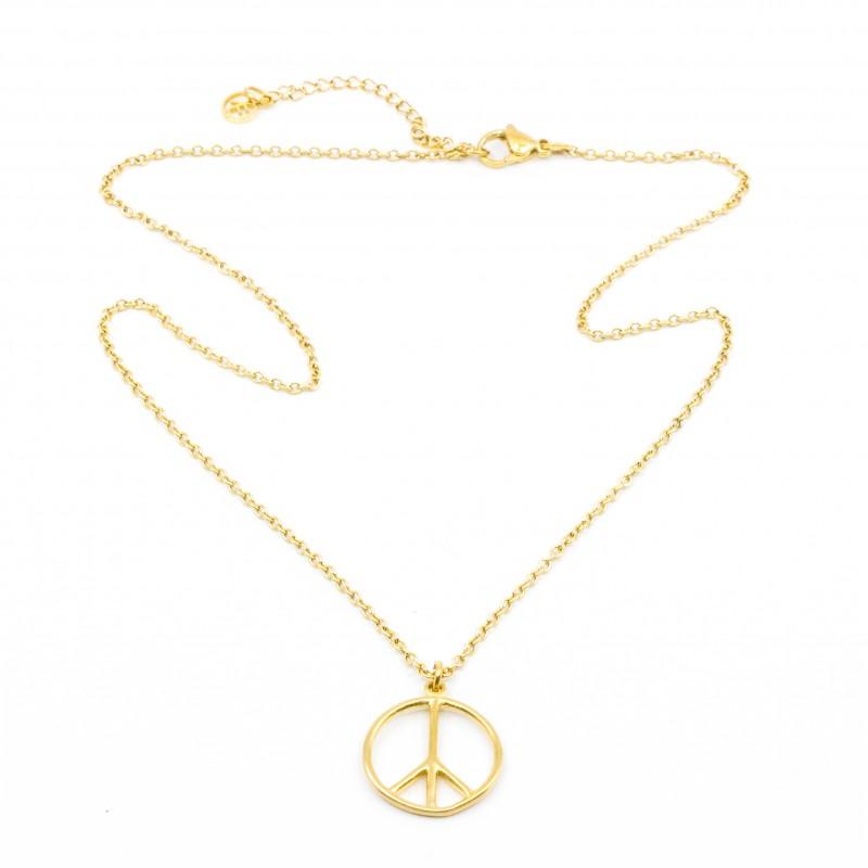 Peace Halsband 45 Guld 7EAST